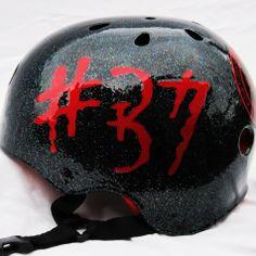 Custom Roller Derby Helmet | SparkleDome.com // Roller Derby