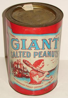 Giant Salted Peanuts