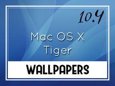 Mac Os X Tiger, Tiger Wallpaper, Desktop Wallpapers, Blog, Android, Backgrounds For Desktop, Blogging, Wallpaper Desktop