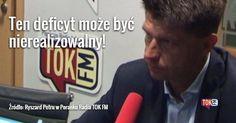 """Rekordowa dziura budżetowa. Jaki informuje """"Puls Biznesu"""" przyszłoroczny plan dochodów i wydatków państwa jest już gotowy. Deficyt opiewa na 60 mld - to o 5 mld więcej niż w 2016 r.  Posłuchaj rozmowy Dominiki Wielowieyskiej z Ryszardem Petru  radio.tokfm.pl  @nowoczesna.oficjalnie #Nowoczesna#ryszardpetru#polityka#reprywatyzacja#budżet#dziura#gospodarka#Polska#Poland#biznes#rozmawiamy#radio#tokfm #TOKFM"""