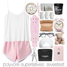 READ THE D: POLYVORE SUPERLATIVES-SWEETEST by pinkcupcake14 on Polyvore featuring polyvore, art and Pinklooks
