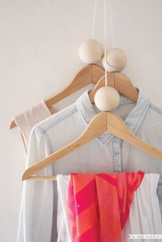 A day with V: Restyle your hanger // Nuovo look all'appendiabiti