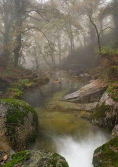 Homem River in Brufe, Portugal