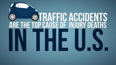 Infographic video - Traffic accidents in the US