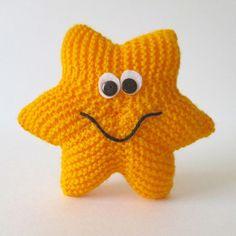 Free - Ravelry: Starfish amigurumi knitted pattern // by Amanda Berry Double Knitting, Loom Knitting, Free Knitting, Baby Knitting, Knitting Needles, Knitting Toys, Charity Knitting, Free Baby Patterns, Free Pattern