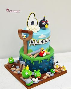 Angry birds by Naike Lanza