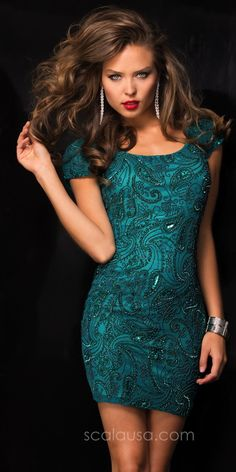 Gorgeous Beaded Homecoming Dress