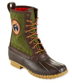 """Men's Quilted L.L.Bean Boots, 10"""" Thinsulate Patch"""
