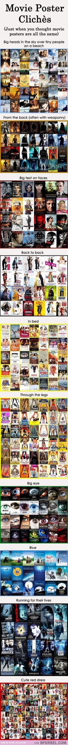 10 Types Of Movie Poster Clichés That Are More Common Than You Think…