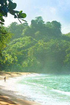 The beach in Trinidad & Tobago