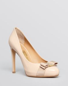 a300a7f59558 Salvatore Ferragamo High-Heel Platform Pumps Shoes - Bloomingdale s
