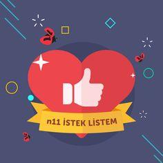 Yarışma seni bekliyor... Listeni hemen arkadaşlarınla paylaş, en çok oyu sen al, 11.11'de kullanabileceğin indirim kuponunu kap!