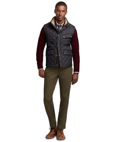 Quilted City Vest