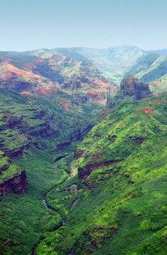 Waimea Canyon, Kauai, Hawaii...how can there be so much space on such a tiny cluster of land?
