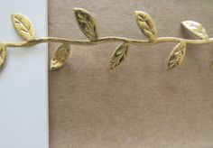 Gold Boho Headband  Gold Halo  Gold Leaf Headband by belleNwhistle, $7.00