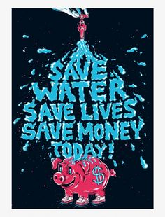 Save Water Save Life, Ways To Save Water, Water Poster, Poster On, Earth Design, Poster Pictures, Life Drawing, Latest Pics, Cool Photos