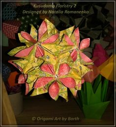 Kusudama  Floristry 2 - Thank you for your visit