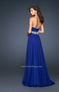 One Shoulder Long Sleeveless Chiffon Pleated Zipper A-line Beaded Natural Waist Prom Dress Plus Size Homecoming Dresses, Prom Dresses Blue, Pageant Dresses, Bridal Dresses, Strapless Dress Formal, Girls Dresses, Prom Gowns, Dress Prom, Formal Dresses