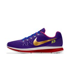 13d6d9d61329 Nike Air Zoom Pegasus 34 iD Women s Running Shoe
