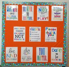 Upper elementary and middle school bulletin board ideas! Counseling Bulletin Boards, Classroom Quotes, Middle School Classroom, Classroom Bulletin Boards, Classroom Posters, Classroom Decor, English Classroom, Education Posters, Bulletin Board Ideas Middle School