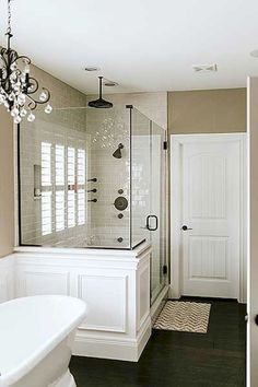 Efficient small bathroom shower remodel ideas (23)