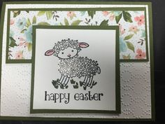 Stampin' Up! Happy Easter Lamb by Amanda Waldhart at amandasinspirationstation.com