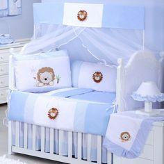 Kit Berço Leãonardo é perfeito para o quarto de menino