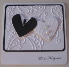 handmade wedding cards stampin up - Black & white Wedding Cards Handmade, Greeting Cards Handmade, Wedding Shower Cards, Card Wedding, Wedding Album, Engagement Cards, Wedding Anniversary Cards, Wedding Card Templates, Love Cards
