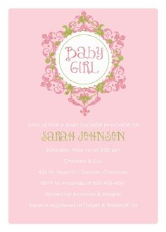 Cute invites for sisters shower - girl http://www.etsy.com/shop/katiearichards