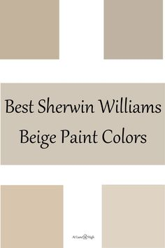 Today we will be discussing the best beige paint colors for your home. Beige is still very popular and has been making a bit of a comeback!