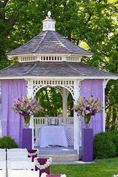 wedding gazebos Gazebo Wedding Decorations GLV Pinterest