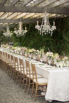 Longer Table/ Lighter more formal