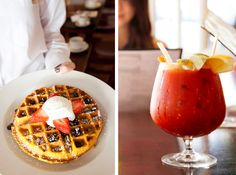 Sarabeth's (NYC, UWS) I hear breakfast during the week or brunch on the weekends are yummy