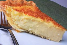 Grandmas Egg Custard Pie Recipe   HungryForever.com