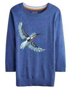 Joules null Womens Knitwear, King.                     Take a walk on the wildside with this super soft jumper. Adorned with a cool animal intarsia that's sure to raise a smile whenever it makes and appearance, this jumper is great to add character to your wardrobe.
