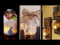 """DIY ROOM DECOR! 38 Easy Crafts Ideas """"Decorative glass bottles"""" for Teenagers    >source https://buttermintboutique.com/diy-room-decor-38-easy-crafts-ideas-decorative-glass-bottles-for-teenagers/"""