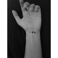 New tattoo ♥ #my_tattoo #galaxytattoo #spacetattoo