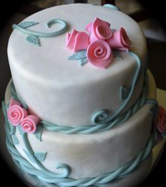 nBluf Spring Floral Theme Cake www.nBluf.com