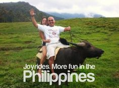 Joyrides. More fun in the Philippines.