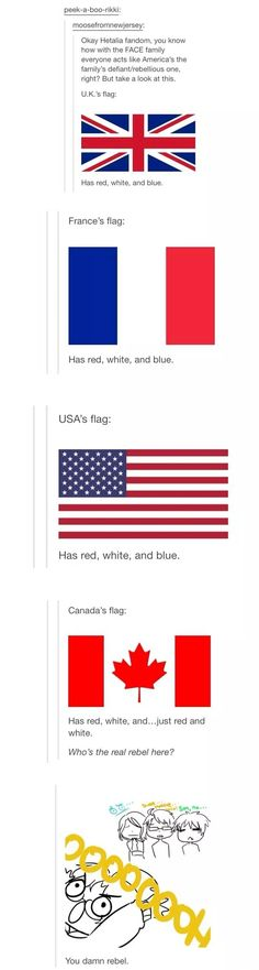The Danish flag is Red and White. The Norwegian is Red, White and Blue None of you are special when it comes to the colours of your flags
