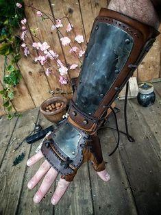 Steampunk Armor, Steampunk Costume, Larp, Samurai Armor, Skyrim Armor, Armadura Steampunk, Armadura Cosplay, Post Apocalyptic Costume, Leather Bracers