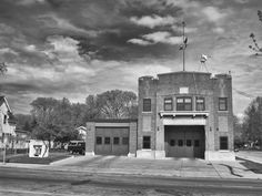 Minneapolis fire station on about 27th and Johnson in Northeast Minneapolis.  Building dates to 1915. Still in service.