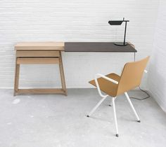 Creative Contemporary Furniture Design Types Are Made Of Good Quality Wooden For Write Desk To Get The Position Right With Minimalist Desk And Modern Chair / Contemporary Furniture | Picturesque Contemporary Furniture Design Ideas to Perfecting Room Layout