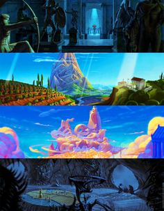 Breathtaking Sceneries from Hercules