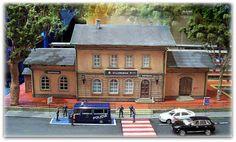 Estación de Villanueva. Escala H0-H0m.