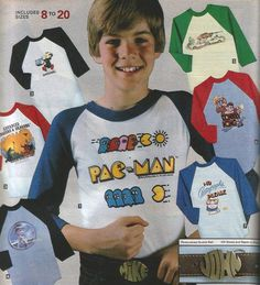 T-shirts of the 1981 Sears Wishbook