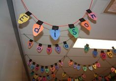 Student Name Christmas Lights - I love the idea of hanging these all over our classroom! I might have my students reflect on the past year and/or write goals for the New Year on the back.....