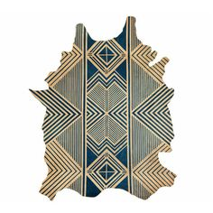 Amazing hand painted leather rugs! In the Studio with Brit Kleinman of AVO | TRNK