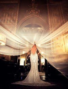 Gorgeous veil shot. (Photographer unknown, please comment for proper credit!)