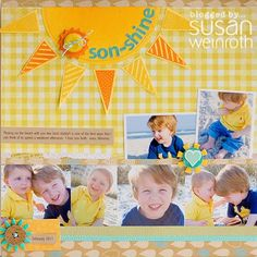 son-shine Boy layout